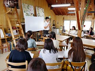 北海道富良野での市議会議員と考えるまちづくり課題の学習