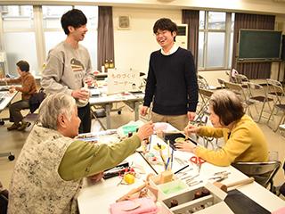 ②高齢者・地域住民の健康増進プログラム/ものづくり教室